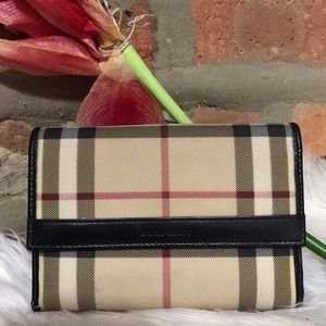 💥authentic burberry wallet